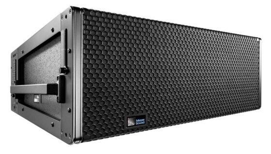 Компактный компонент линейного массива с высокой линейностью АЧХ Meyer Sound LEOPARD