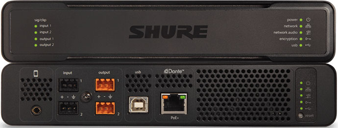 Что нового, Shure? Свежая версия ПО для IntelliMix P300!