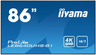 Информационная панель Iiyama LE8640UHS-B1