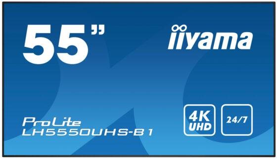 Информационная панель Iiyama LH5550UHS-B1