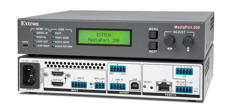 Снижение цен на cкалирующий шлюз из HDMI и аудио в USB MediaPort 200