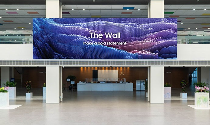 Samsung обновила семейство microLED-дисплеев The Wall